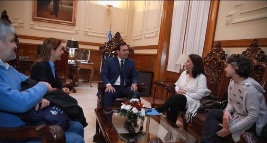 Valdés recibió a funcionarios nacionales, quienes ratificaron obras en Corrientes