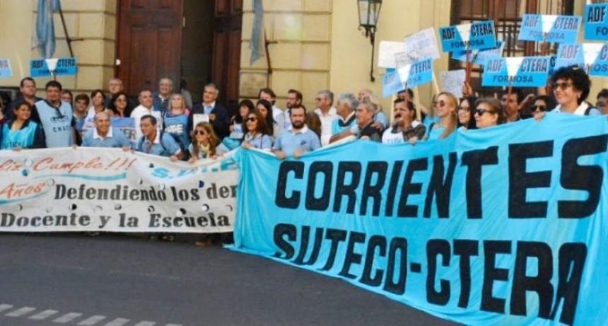 El SUTECO exige reapertura de las paritarias docentes