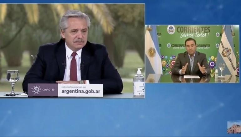 Fernández y Valdés anunciaron obras estratégicas para Corrientes por $5.000 millones