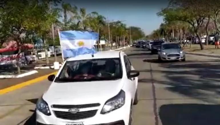 Así se movilizaron en Corrientes por el #17A