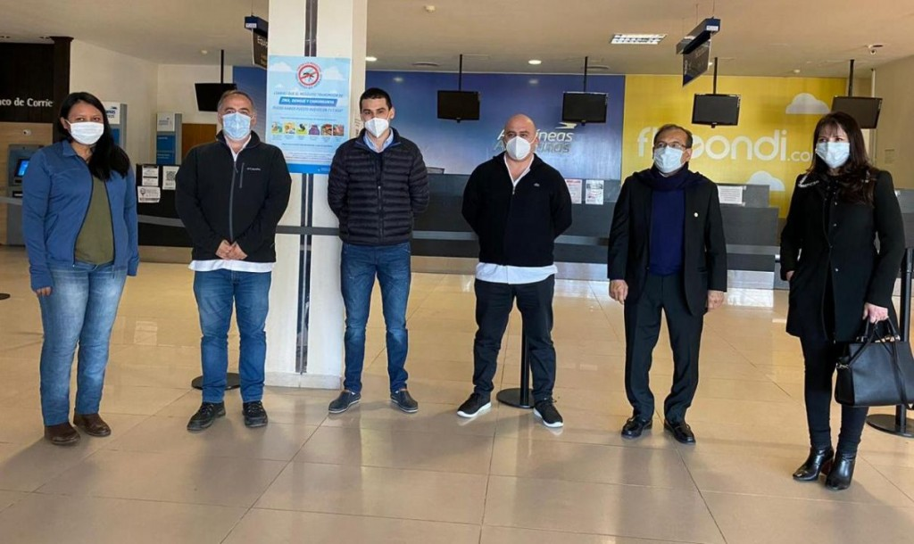 Los médicos terapistas de Corrientes partieron rumbo a Jujuy para luchar contra el coronavirus