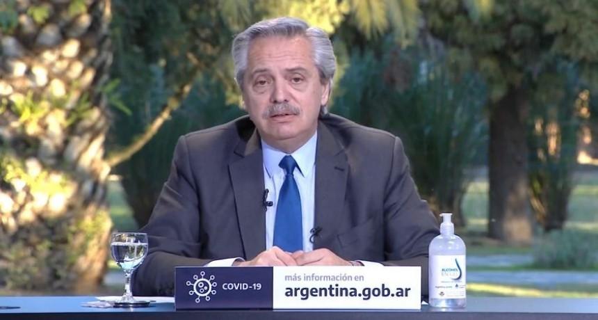 Alberto F. destacó que el país enfrentó dos pandemias:
