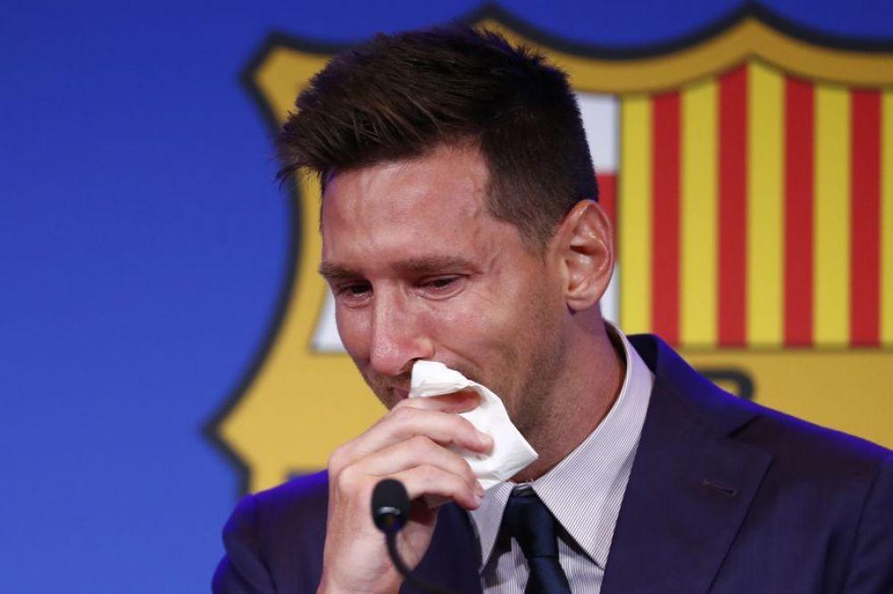La emocionante despedida de Lionel Messi de Barcelona