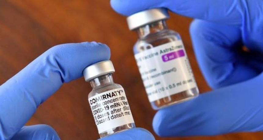 Mañana presentan los resultados de estudios nacionales de combinación de vacunas