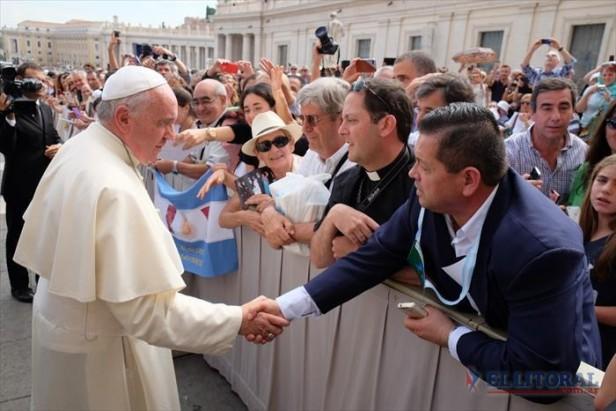 Renovadas esperanzas de los ex combatientes tras el encuentro con el Papa