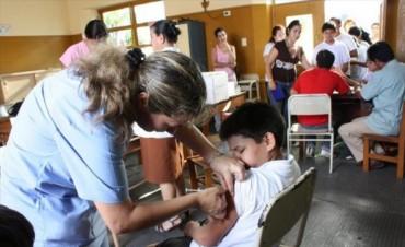 Lanzan la campaña contra la rubéola, sarampión y polio