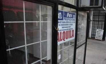 Más vidrieras vacías por un combo de inflación, suba de alquiler e impuestos