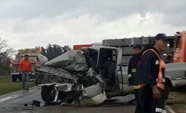 Camionero murió en Bonpland y cerca de Empedrado se registró un brutal choque