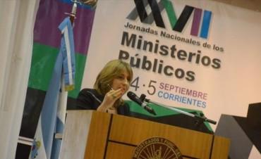 Gils Carbó defendió las reformas que agilicen y faciliten el acceso a la Justicia