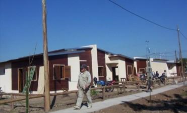 La Chola: finalizaron 18 casas y alistan nuevo plan habitacional