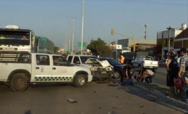 Murió el motociclista que chocó con una camioneta en avenida Independencia
