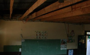 Maestros destacan el desafío de su tarea en precarias condiciones edilicias