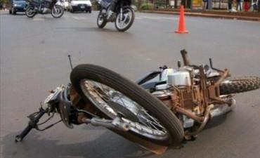 San Cosme: murió un motociclista de 14 años al chocar de frente con una combi