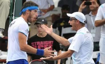 Mayer y Berlocq aportaron los puntos para que Argentina siga en la elite