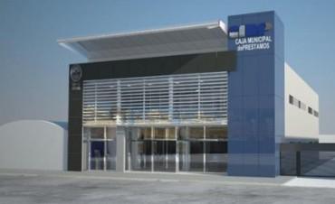 Anunciaron la construcción de un nuevo edificio para la Caja Municipal de Préstamos