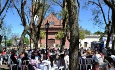 Cientos de personas participaron de los festejos en honor a Nuestra Señora de las Mercedes