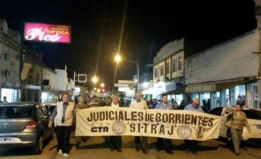 Con apoyo nacional, Sitraj marcha para pedir juicio político contra la fiscal Romero