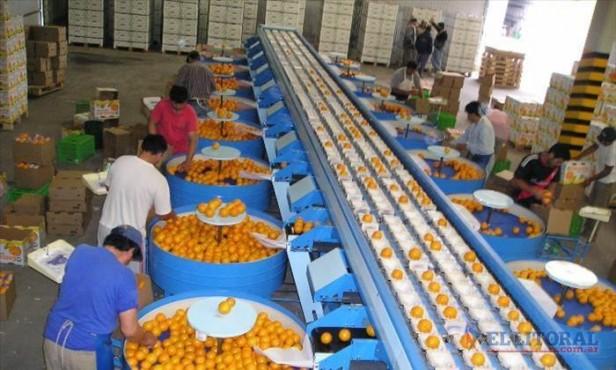Alistan la inauguran una fábrica de jugos en Monte Caseros