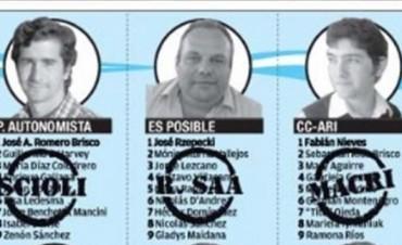 Capital: las 9 listas de concejales reparten apoyo entre Scioli y Macri