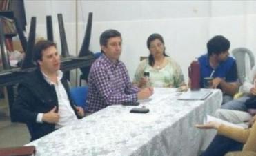 Concejales acordaron sesionar en el barrio Aldana para tratar la inseguridad