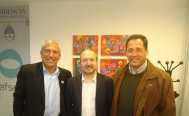 Gerardo Bassi y Alejandro Medina gestionaron ante Sabatella una solución para LT6