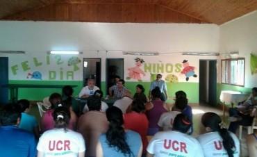 Colombi encabeza la campaña electoral de ECO en la provincia