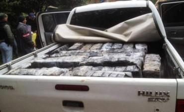 Cayó sospechoso por intento de tráfico de mil kilos de marihuana
