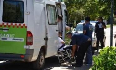 Violento ataque a una mujer embarazada en Teniente Ibáñez y Maipú