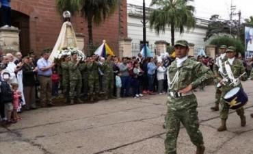 En Mercedes, Canecín ofició su primera misa como Obispo de la Diócesis de Goya