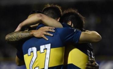 Boca se encamina hacia el título con una goleada a Banfield en la Bombonera