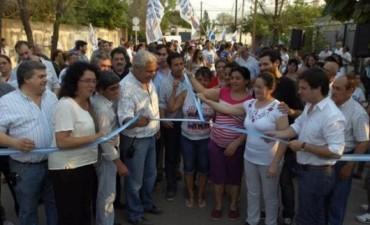 El Municipio inaugurará los 900 metros de pavimento en la calle Madariaga