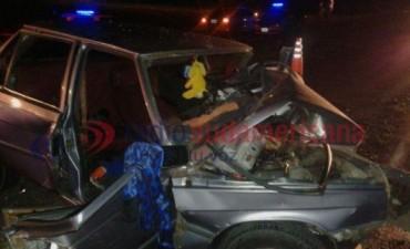 Murió mujer en brutal choque frontal: uno de los conductores estaba ebrio