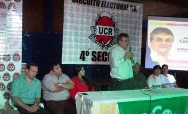 Masivo acto de ECO en el barrio Quintana