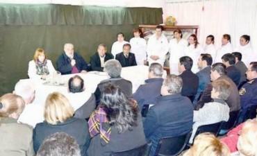 Más obras para la salud inauguró el Gobernador