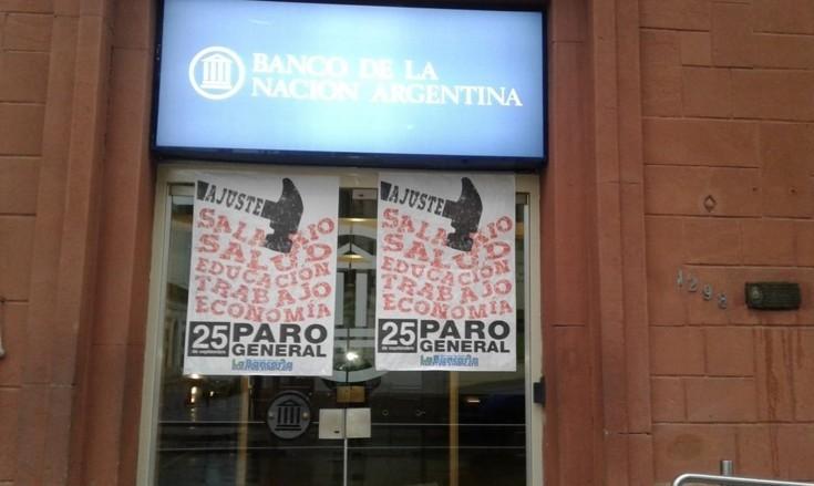 Postales del paro general en Corrientes