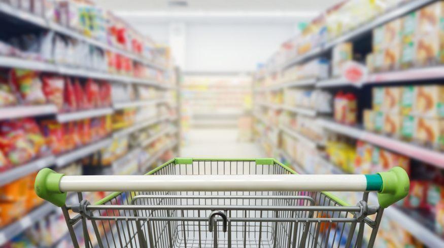 Supermercados con menos personal