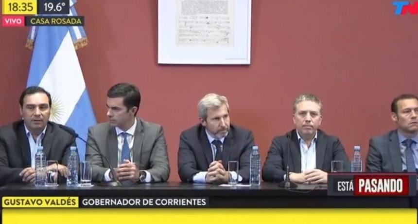 Valdés, una de las figuras centrales que respaldó el preacuerdo del Presupuesto