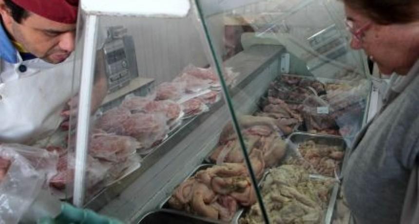 Los cortes cárnicos volvieron a aumentar un 30% en las carnicerías de la ciudad