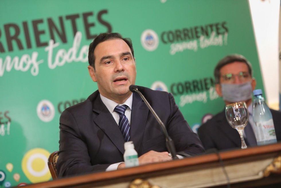 El gobernador Gustavo Valdés instó a