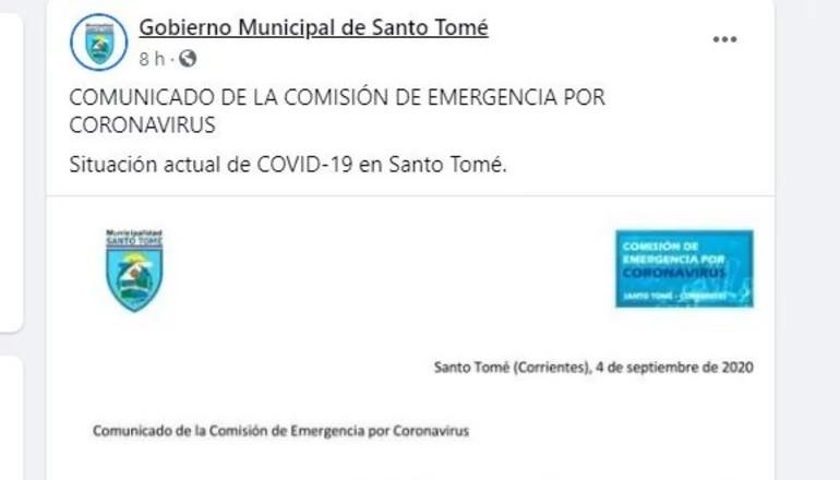 Detectan un nuevo caso de coronavirus en Corrientes