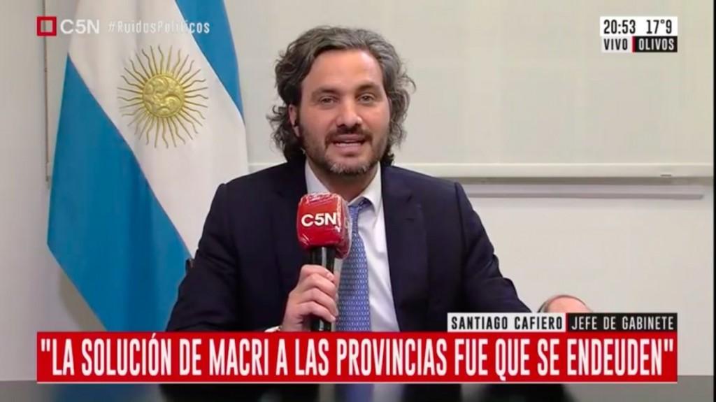 Santiago Cafiero le respondió a Larreta: