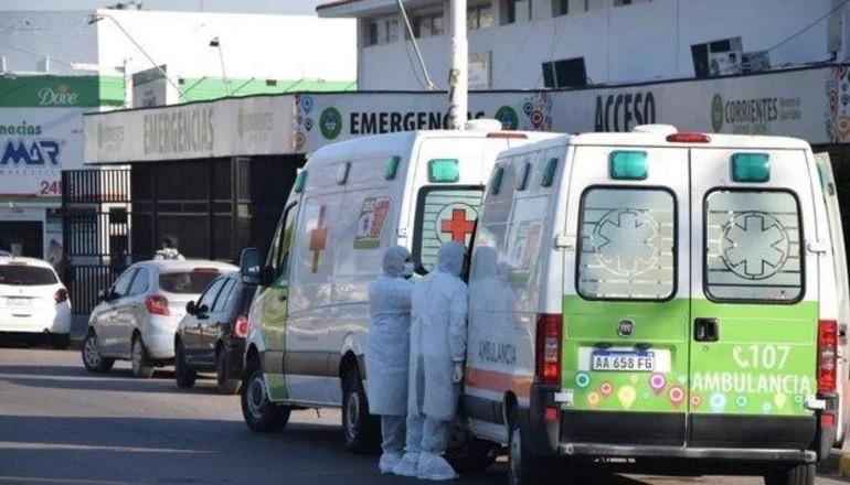 San Roque: trasladan de urgencia a Capital a cuatro pacientes con covid-19