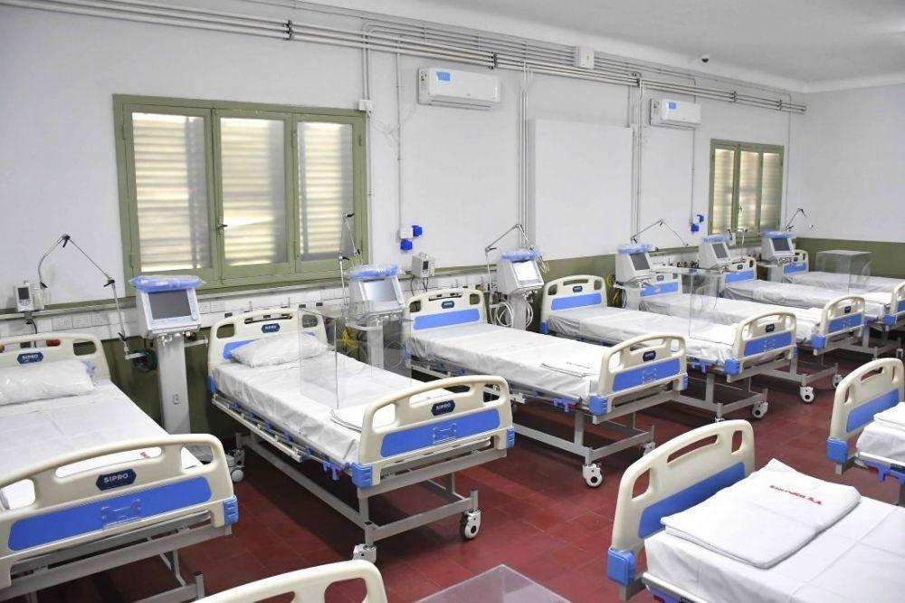 Hay 69 pacientes internados en el Hospital de Campaña Escuela Hogar