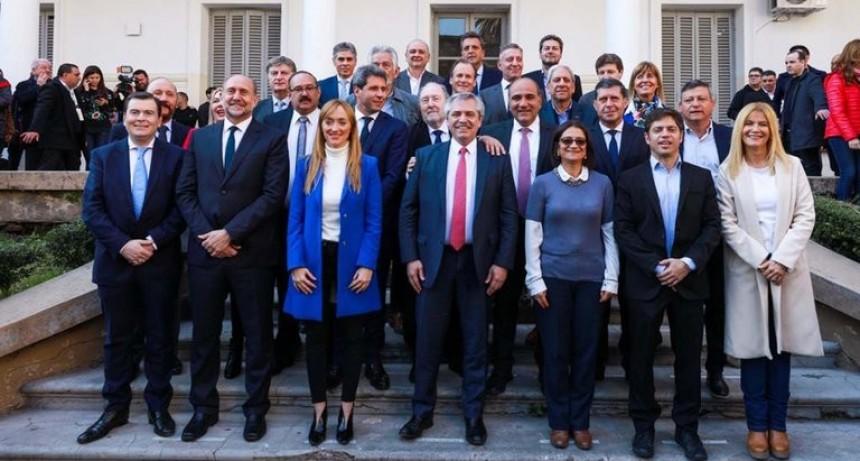19 gobernadores respaldaron la decisión de Alberto Fernández de quitarle coparticipación a la Ciudad de Buenos Aires