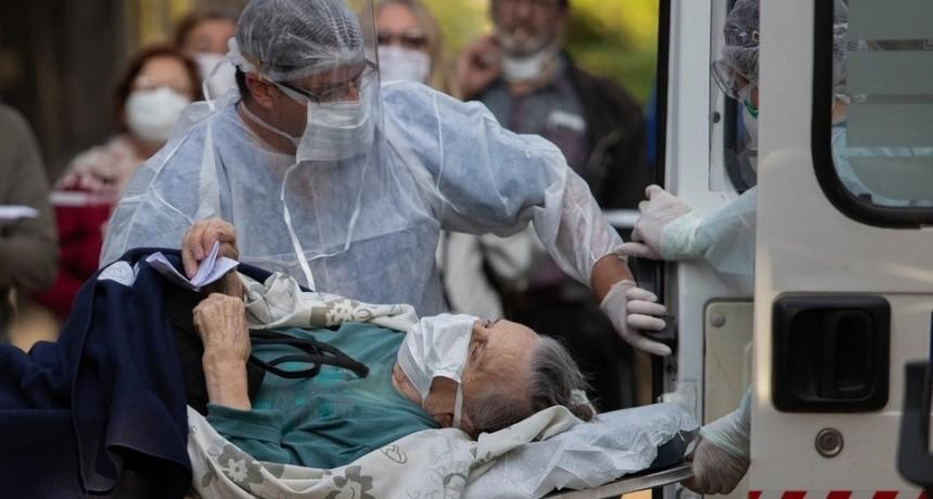 Se registraron 264 muertes y 11.674 nuevos casos en las últimas 24 horas