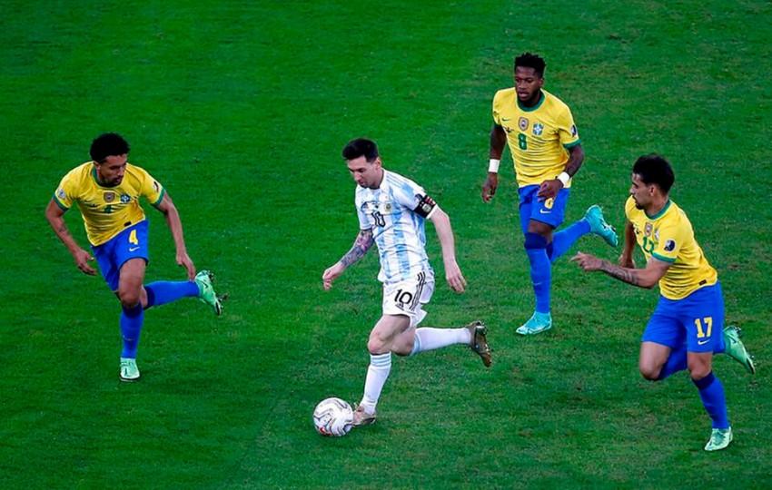 La Selección Argentina vuelve a Brasil como campeón de América