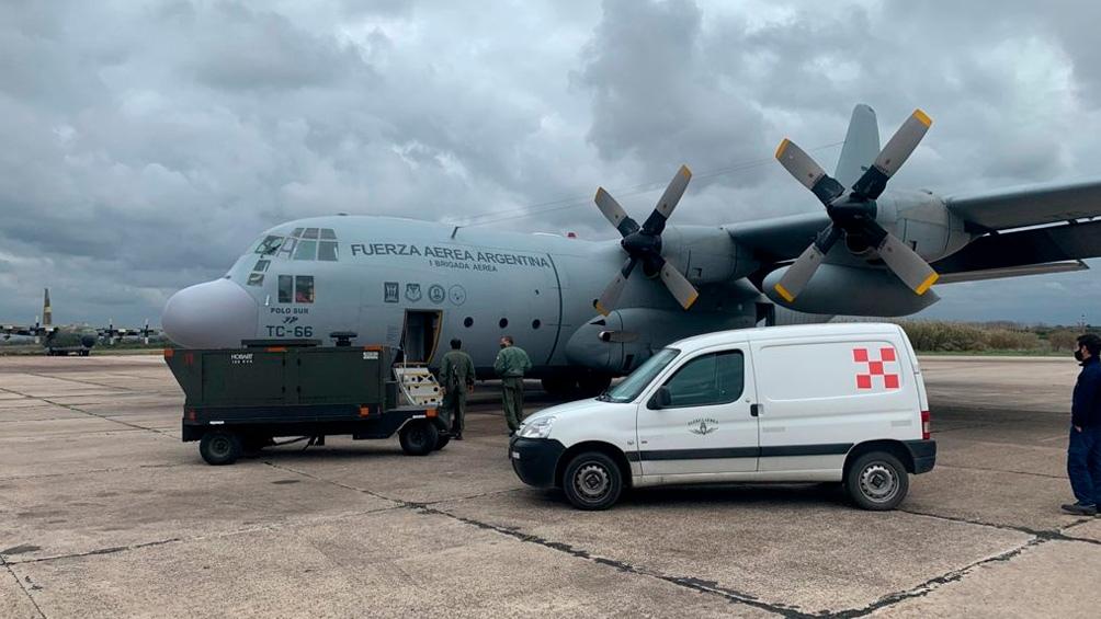 Llegó a Cuba ayuda humanitaria de la Argentina para enfrentar la pandemia
