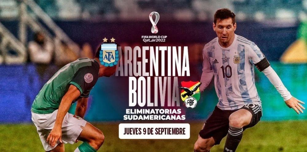 Argentina - Bolivia: hora, formaciones y cómo verlo en vivo