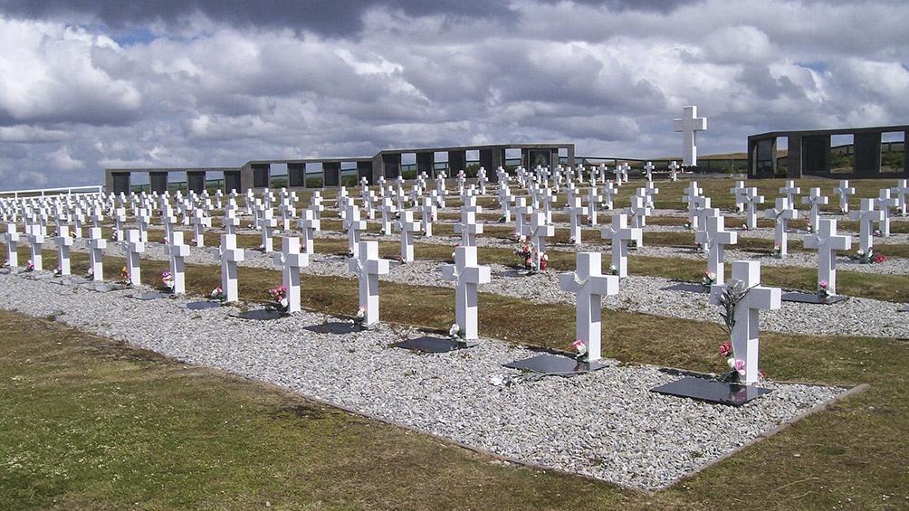 Identificaron los restos de seis soldados argentinos inhumados en las Islas Malvinas