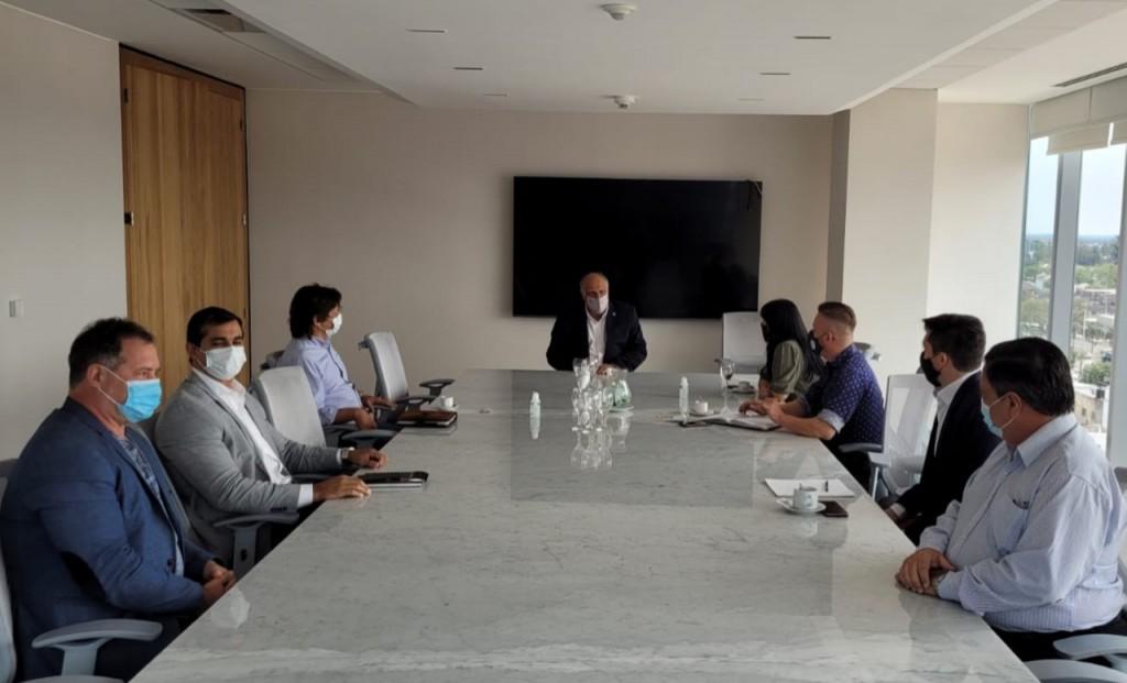El Banco de Corrientes se reunió con empresarios del sector de eventos
